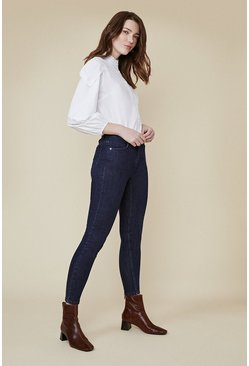 Indigo Lily Short Length High Rise Skinny Jean