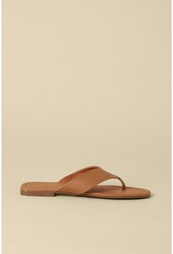 Tan Backless Toepost