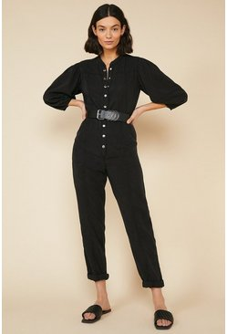 Black Premium Tencel Jumpsuit