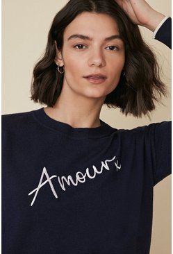 Navy Amour Jumper