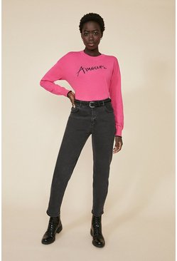 Pink Amour Jumper