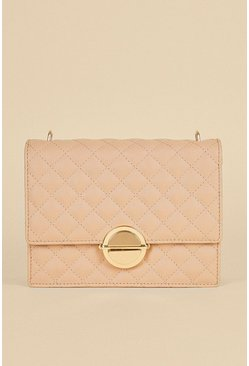 Rose Quilted Cross Body Bag