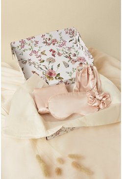 Dusky pink Sweet Dreams Luxe Satin Gift Set