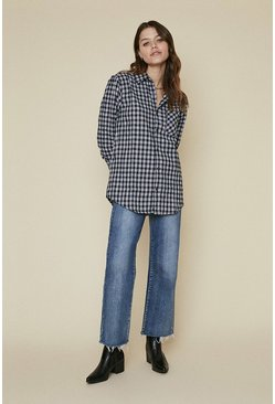 Multi Long Sleeve Check Shirt