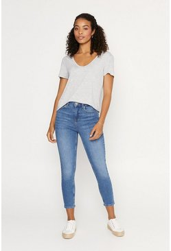 Denim Authentic Crop Jean