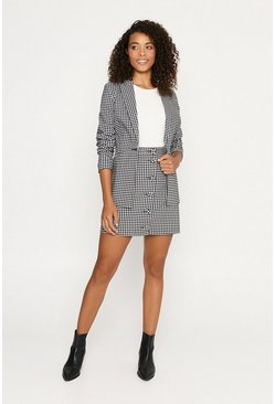 Blackwhite Gingham Jacket