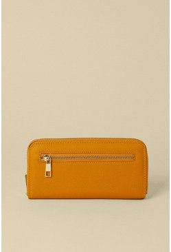 Ochre Zip Front Pocket Purse