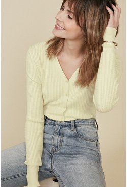 Lemon Cable Stitch Cardigan