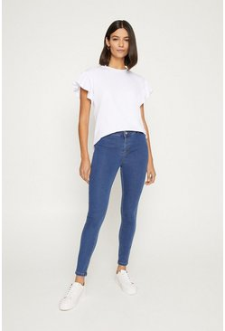 Light wash Power Stretch Jegging