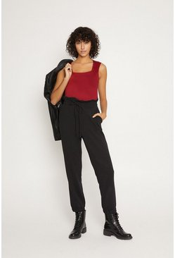 Berry Square Neck Vest Top