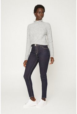 Indigo Stretch Jean Top Stitch