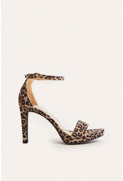 Animal  2 Part High Heel Shoes