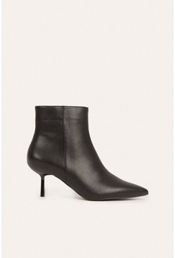 Black Pixie Ankle Boot