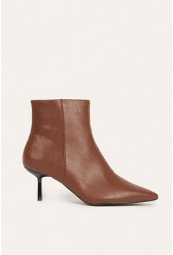 Tan Pixie Ankle Boot