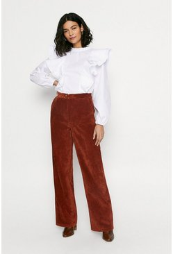 Rust Cord Trousers