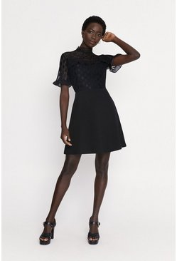 Black Pretty Lace Dress