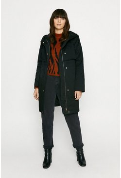 Black Lightweight Parka