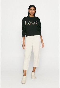 Black Love Garland Sweat