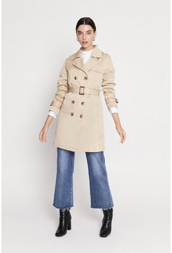 Stone Belted Trench