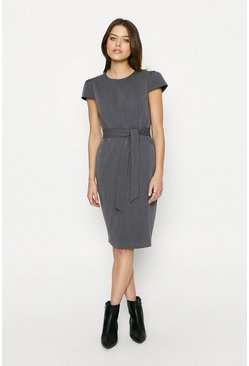 Grey Workwear Dress