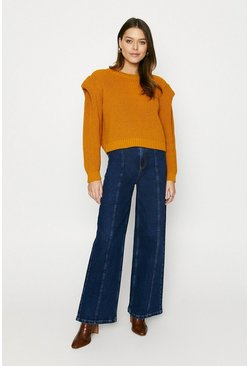 Ochre Lipped Shoulder Jumper