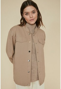 Natural Frill Cuff Jacket