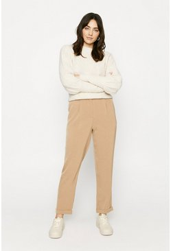Natural Relaxed Peg Trouser