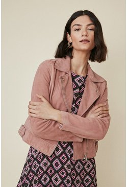 Blush Premium Suede Jacket