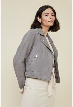 Grey Premium Suede Jacket