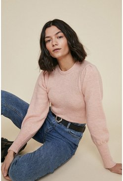 Peach Cosy Crew Jumper