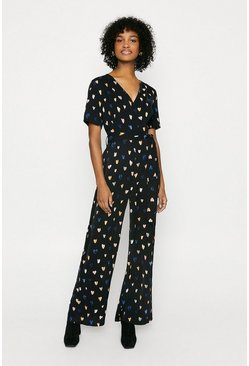 Black Heart Jumpsuit