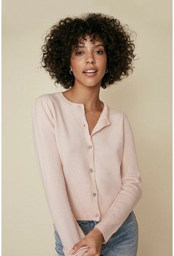 Light pink Pretty Button Cardigan