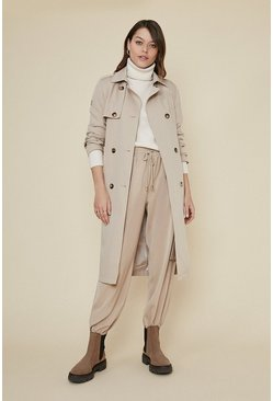 Natural Drapey Trench Coat