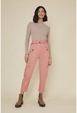 Pink Cargo Trouser