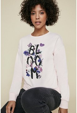 Blush Bloom Sweatshirt