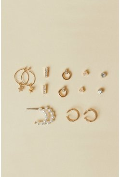 Gold Ear Party Set