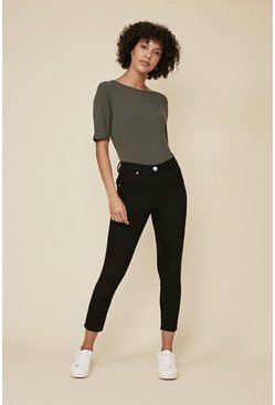 Black Grace Cropped Jean
