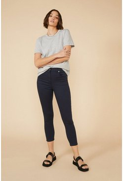 Navy Grace Cropped Jean