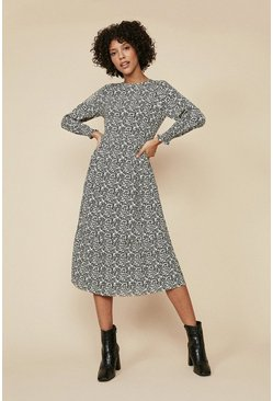 Multi Tiered Midi Dress