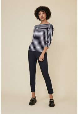Indigo Organic Cotton Jeggings