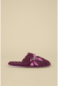 Raspberry Jewelled Slipper