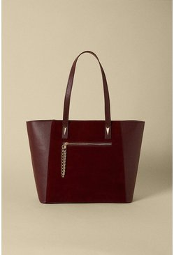 Wine Zip Pocket Shopper Bag