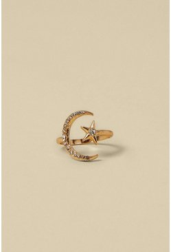 Gold Celestial Stretch Ring