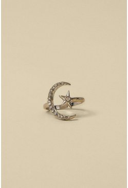 Silver Celestial Stretch Ring