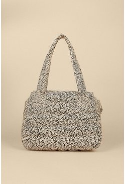 Animal Quilted Day Bag
