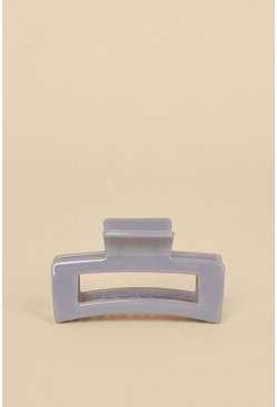 Dark grey Grey Large Rectangle Bulldog Clip