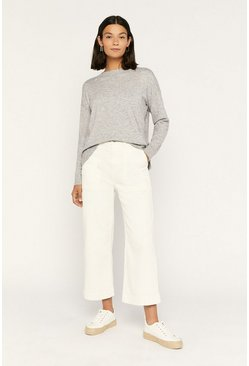 Pale grey Marl Jumper