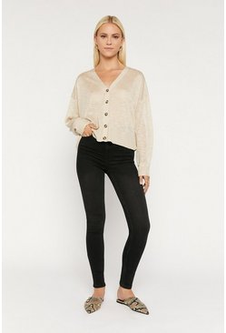 Dark grey High Rise Skinny Jean