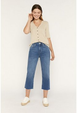 Light wash Straight Leg Jean