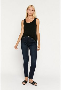 Dark wash Slim Leg Jean